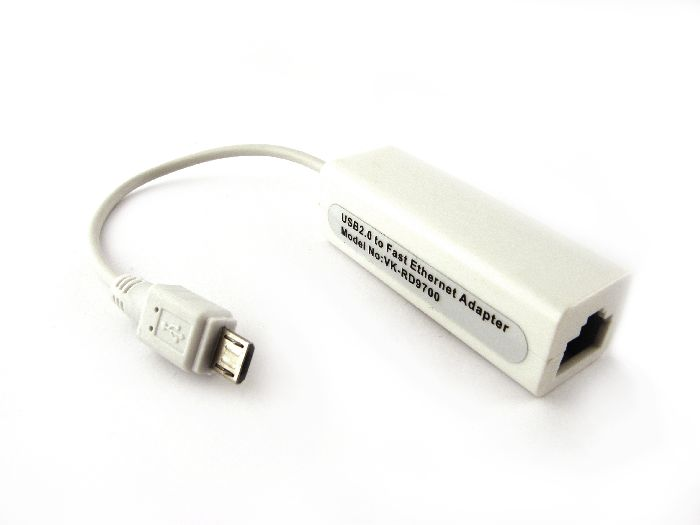 microUSB Lan сетевой Ethernet адаптер